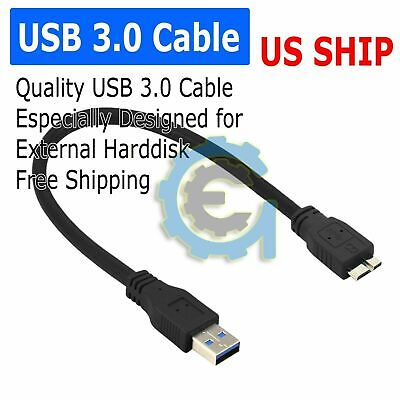 5X 6FT USB 3.0 Cable for Seagate Back-Up Slim Portable Hard Drive HDD