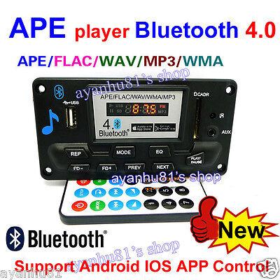 Digital Bluetooth 4 0 Audio Receiver APE FLAC WAV WMA MP3 Decoder Board FM  Radio 699982532731   eBay