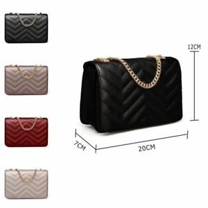 e52b4fa169 Image is loading Women-039-s-Designer-Style-Quilted-Cross-Body-