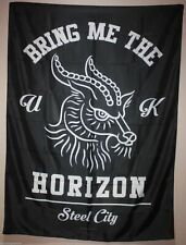 BMTH Textile Flag Bring Me The Horizon Blood Lust Black 77x105cm