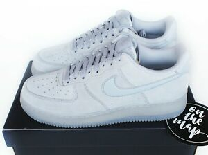 Détails sur Nike Air Force 1 AF1'07 LV8 3 Wolf en Daim Gris UK 5 6 7 8 9 10 11 12 us NEW afficher le titre d'origine