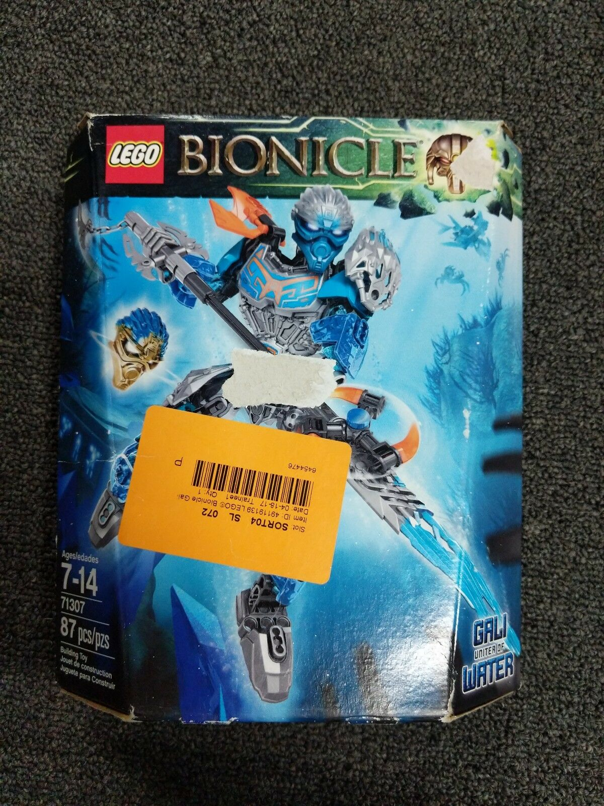 LEGO Bionicle Gali Uniter of Water 71307 NEW, SEALED,  Discontinued