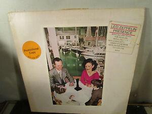 Led Zeppelin Quot Presence Quot Vinyl Lp Album Ebay