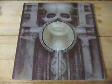 EMERSON LAKE & PALMER BRAIN SALAD SURGERY  UK 1973 LP WITH POSTER K53501