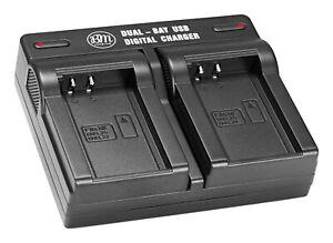EN-EL20 Akku -EL20a Coolpix P1000 Dual-Ladegerät USB für Nikon Coolpix A