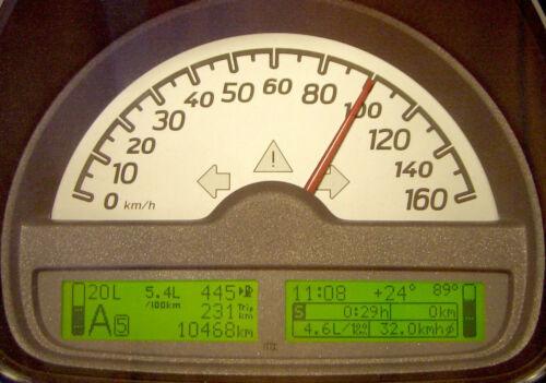 Bordcomputer Verbrauchsrechner für den smart fortwo 451 ab Bj. 2007