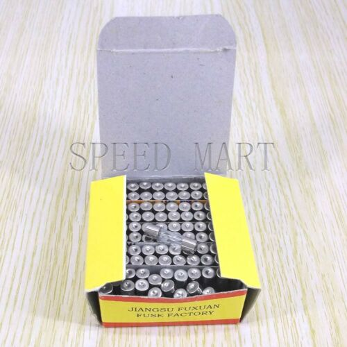 100pcs Fast Quick Blow Glass Tube Fuse 5mm x 20mm 250V 1.5A