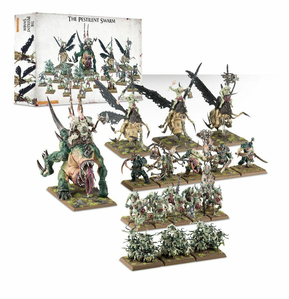Warhammer fantasi GW spelverkstad Age of Sigmar The Pesticent Swarm sead New