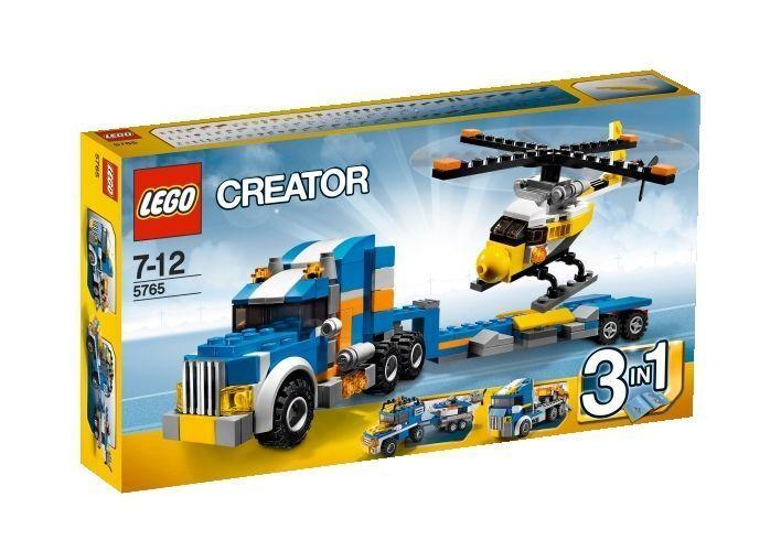LEGO  ® Creator  5765 Tieflader mit Helicopter 3 3 3 Modelle   NEU   OVP e6c4ea