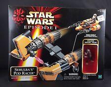 NEW Star Wars Episode I Sebulba's Pod Racer Vehicle Exclusive Action Figure II