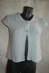 GILET CARDIGAN CAROLL TAILLE S 36 KNIT SUETER SWEATER    eBay 99a5e3699c2