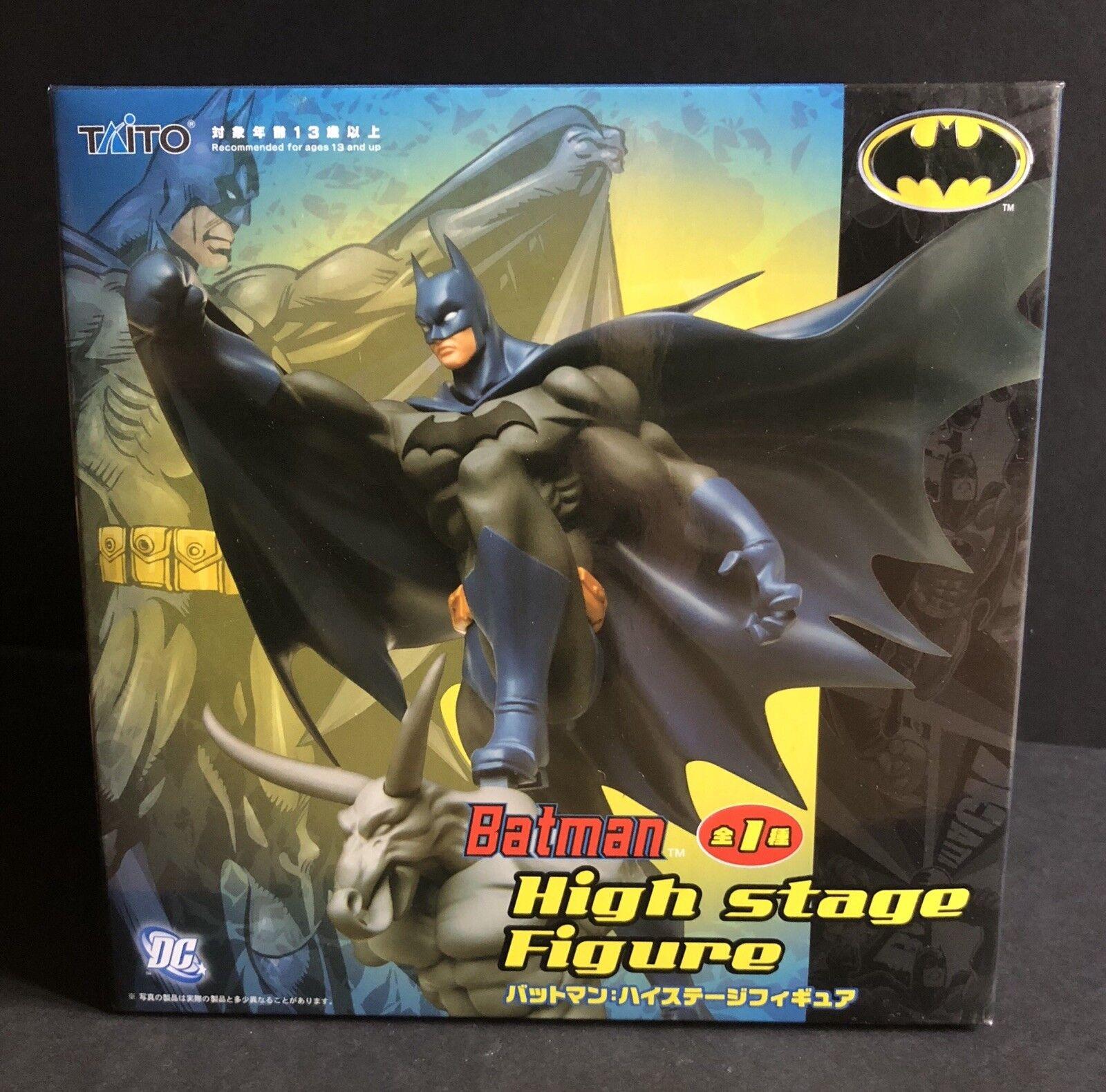 Batman hohe stufe abbildung taito dc japan einfuhr neu versiegelt