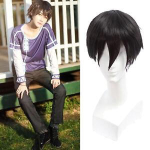 Shingeki no Kyojin Levi Ackerman Short Black Full Hair ...