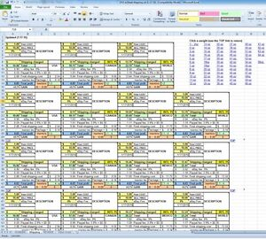 shipping and receiving excel spreadsheet