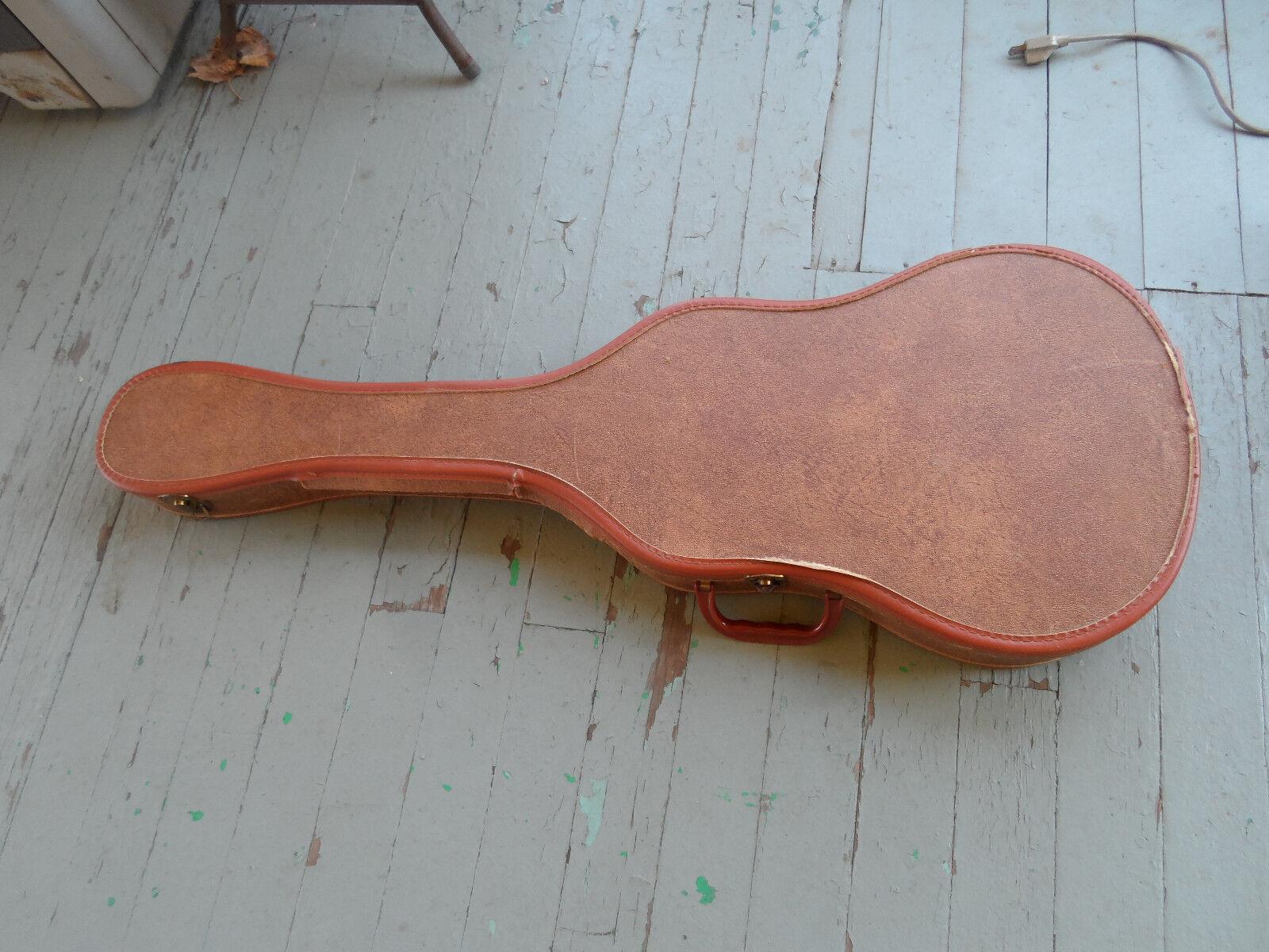 Vintage 1960s 1960s 1960s Gibson Melody Maker Chipboard Original Guitar Case 52e944