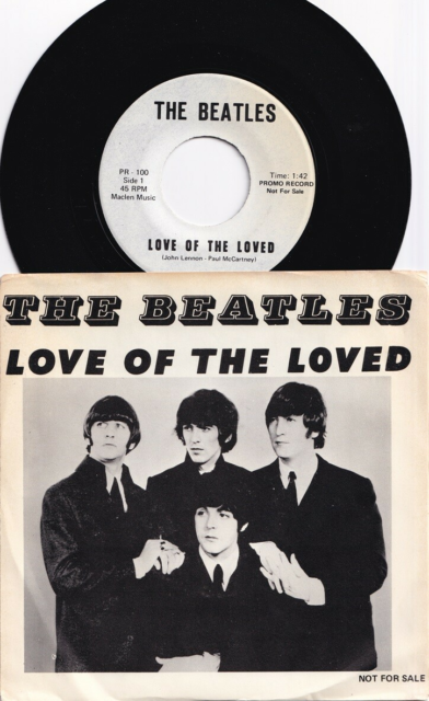 Single, Beatles, Love Of The Loved, Pop