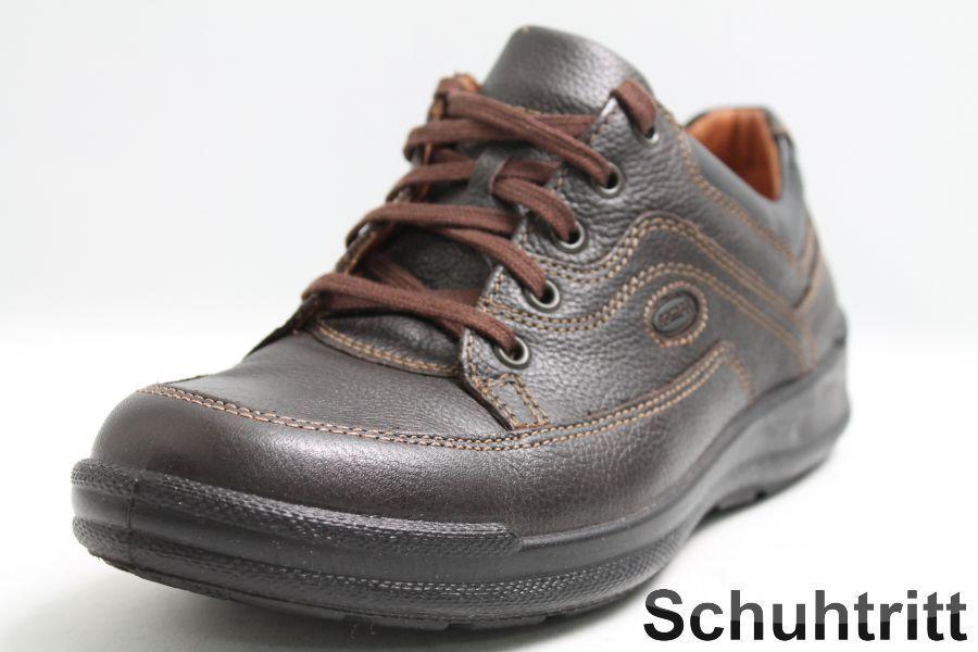 Jomos Schuhe braun Leder m. Wechselsohle in Weite H