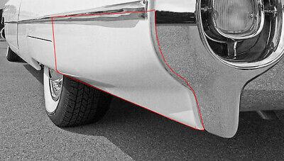 Chevrolet Chevy Lower Front Quarter Panel Right 59 1959 Schott