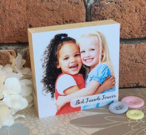 Personalised Handmade photoblock bébé nouveau-né Bébé Mignon Unique Cadeau Souvenir