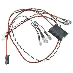 Axial Simple Led Controller With Led Lights 4 White 2 Red AX24257