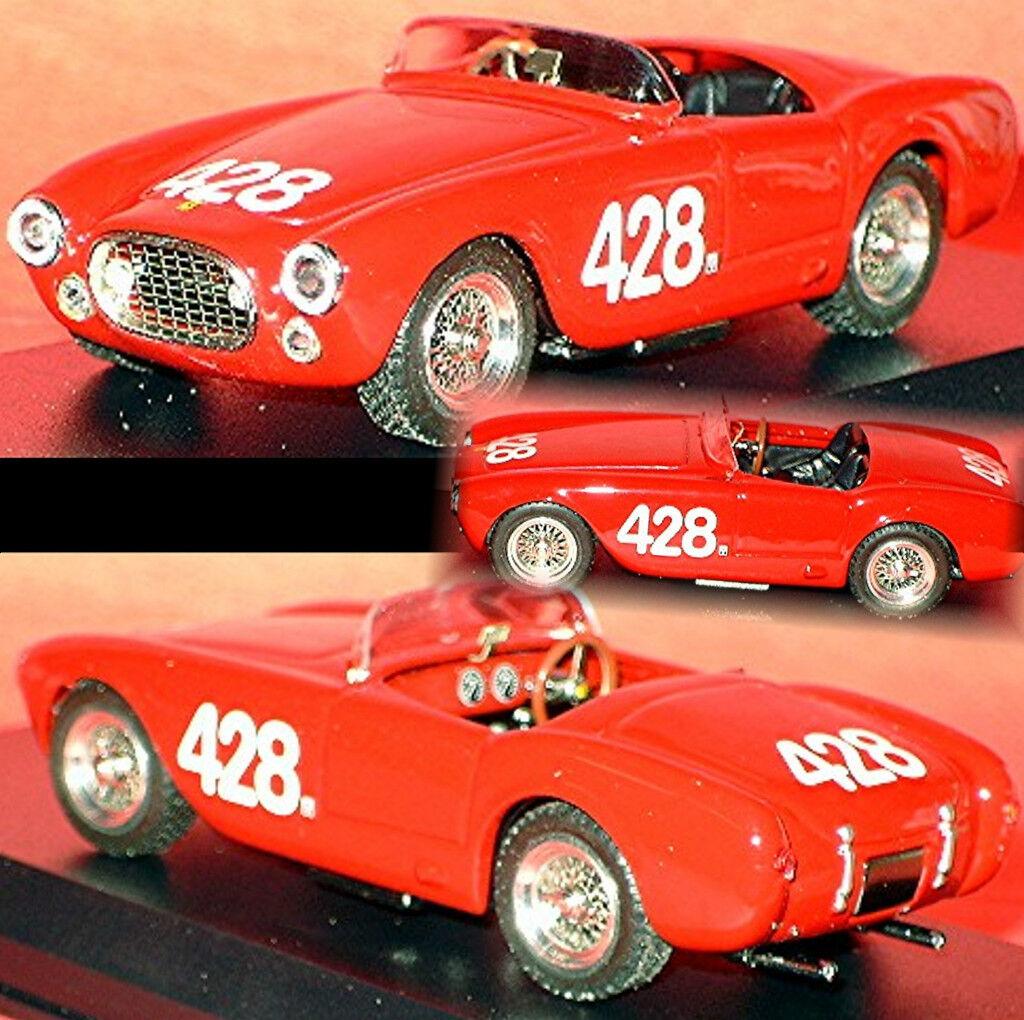 Ferrari 225 S Giro di Sicilia 1953 Masetti  Cappi  428 rot rot 1 43 Art Model  | Geeignet für Farbe