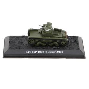 1-72-Modello-Di-Carro-Armato-Veicolo-Collezione-Lega-Plastica