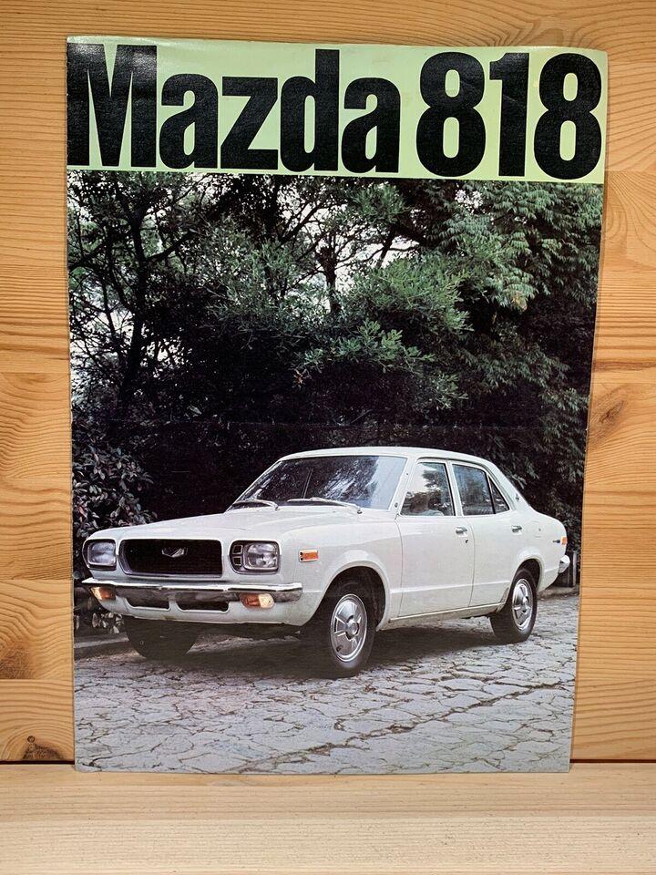 Modelkatalog , Mazda 818