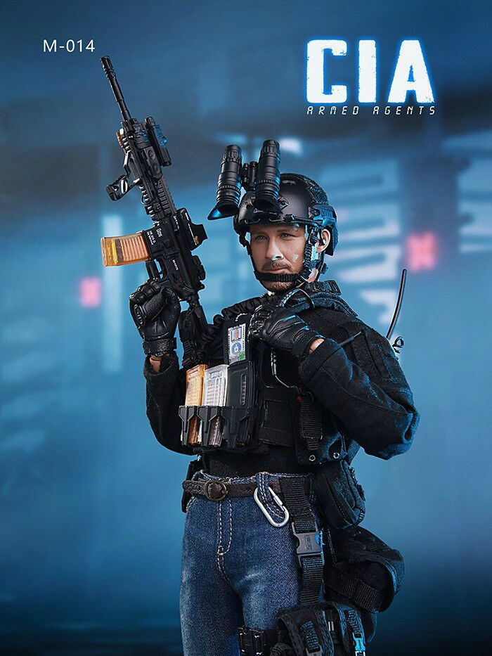Pre-ordine 1/6 SCALA MINI volte Toys MT-M014 AGENTE CIA armato