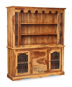 Image Is Loading Jali Light Sheesham Furniture Large Dresser J48l