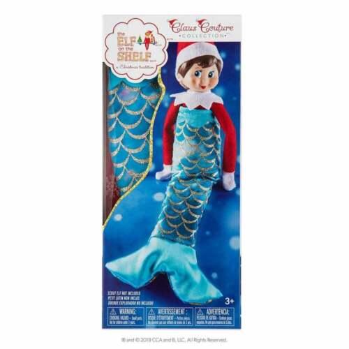 Elfo mensolino-Claus Couture-coda da sirena-Scout ELF non incluso