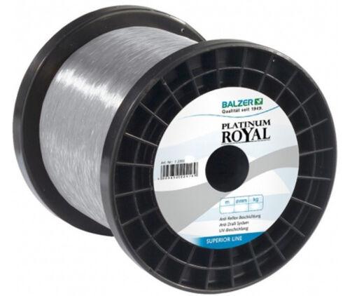Balzer Platinum Royal verschiedene Stärken Monofile Schnur