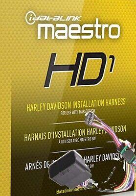 iDatalink HRN-SW-HD1 Factory Integration Adapter 1996-2013 Harley-Davidson