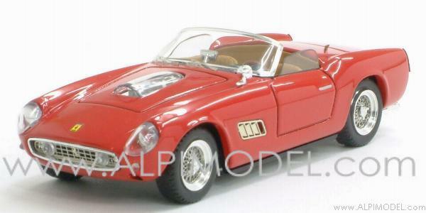 Ferrari 250 Spider California Competizione Prova 1960 rouge 1 43 ART 115