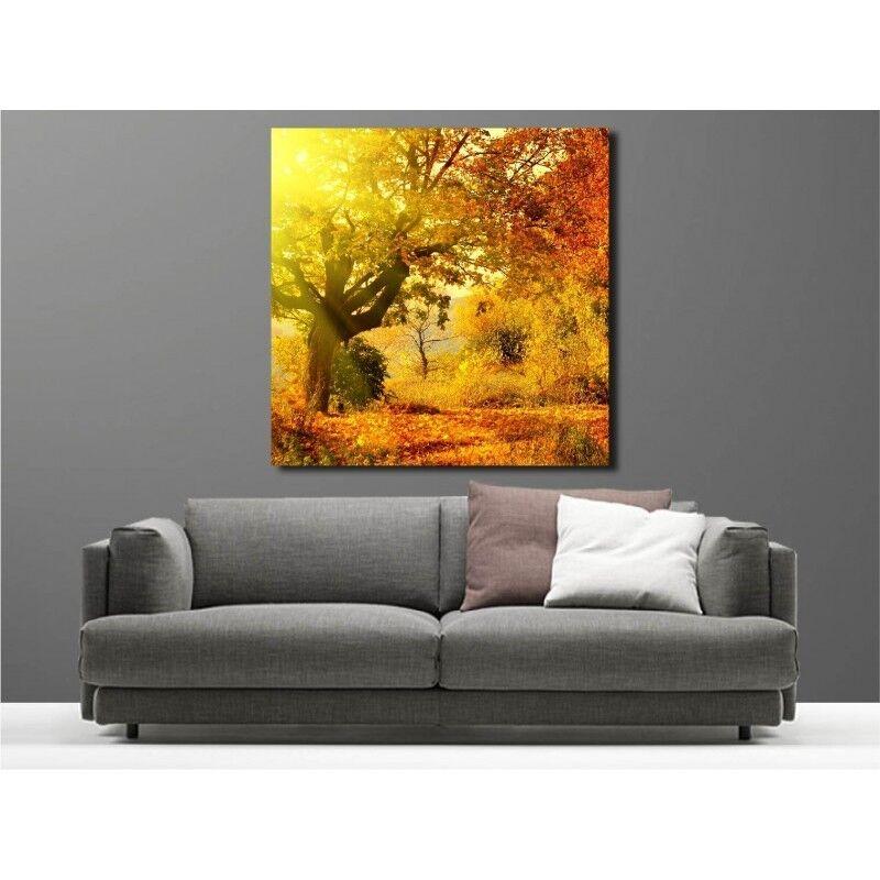 Canvas Fabric Deco Square Autumn 1362679