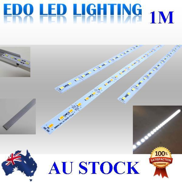 12VDC Cool Warm White 1M 5630 SMD 72 Leds LED Strips Strip Light Bar Channel