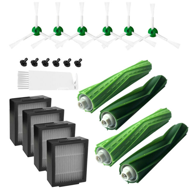 Side Brush Hepa Filter Bristle Brushes For iRobot Roomba i7 /i7 Plus E7 E6 E5