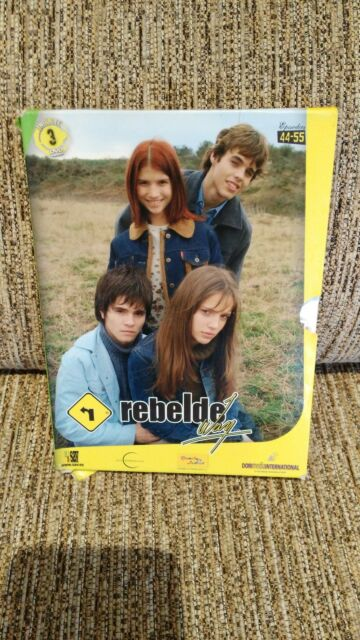 Rbd - Rebelde Way - Chapters 44-51 in 2 DVD Spanish Edition Unique Ebay