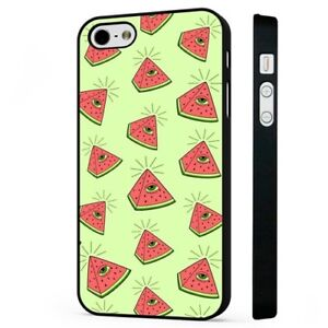 separation shoes bf71a 382a5 Details about Illuminati All Seeing Eye Pyramid Watermelon BLACK PHONE CASE  COVER fits iPHONE