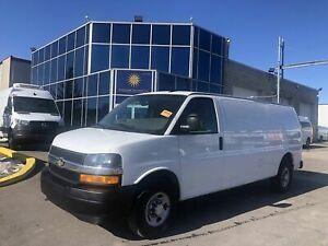 2018 Chevrolet Express G2500-CARGO-EXTENDED 3/4 Ton-10 Ft Box