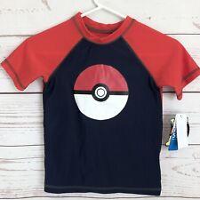 Dreamwave Boys Pokemon Short Sleeve Rash Guard Shirt