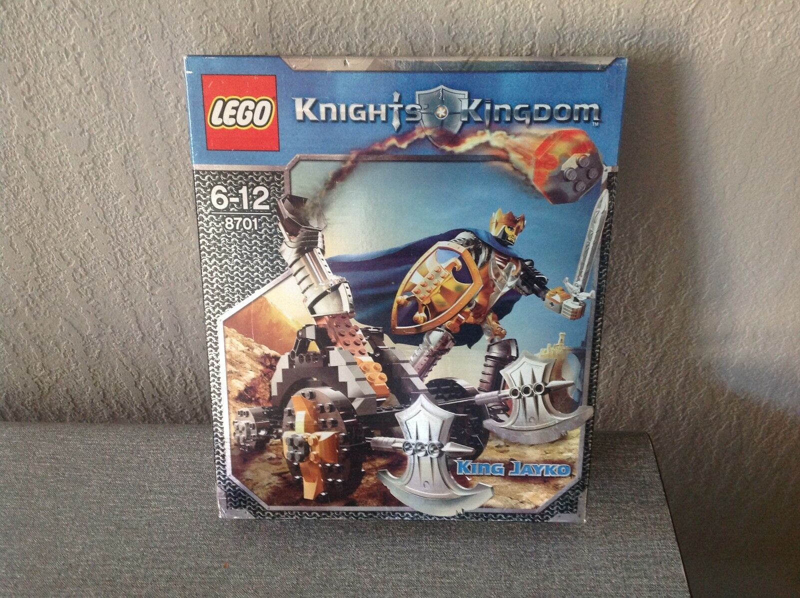 Lego Knights Kingdom King Jayko 8701