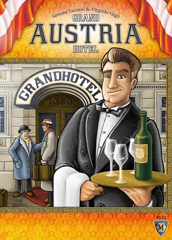 Mayfair Juegos Juego de tarjeta de juego Grand Austria Hotel