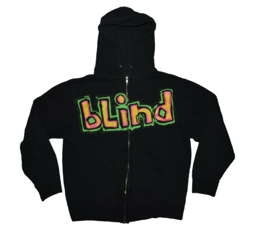 Vintage Blind Skateboards Hooded Sweatshirt Size M