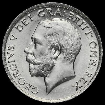 1918 George V Silver Shilling, A/UNC