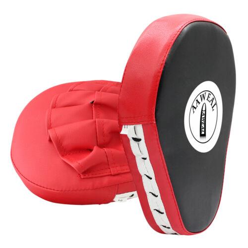 Aaweal Focus Pad Hook /& Jab Mitt Boxing Punch Glove MMA Muay Thai Kick