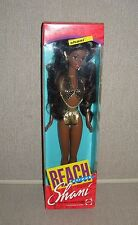 "1992 Mattel SHANI AA/Black Doll ~ From the ""Beach Streak"" Collection NEW!"