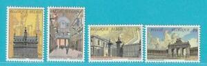 Belgien-aus-1996-postfrisch-MiNr-2694-2697-Ansichten-Bruessel