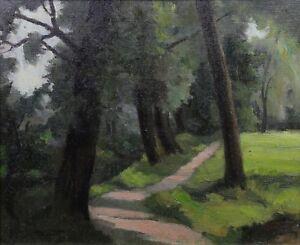 Paul-Sortet-1905-1966-Landscape-post-Impressionist-Congo-Belgian-Rwanda
