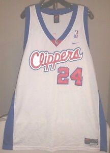 Details about Los Angeles Clippers NBA Nike White Andre Miller #24 2XL Jersey