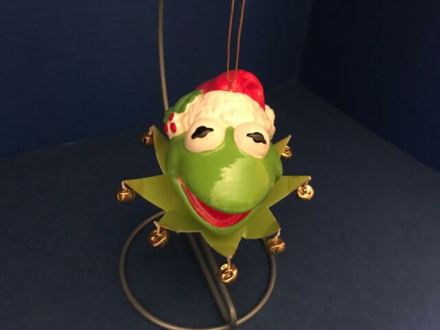 Vintage Christmas Ornament 1979 Kermit the Frog Muppets ...